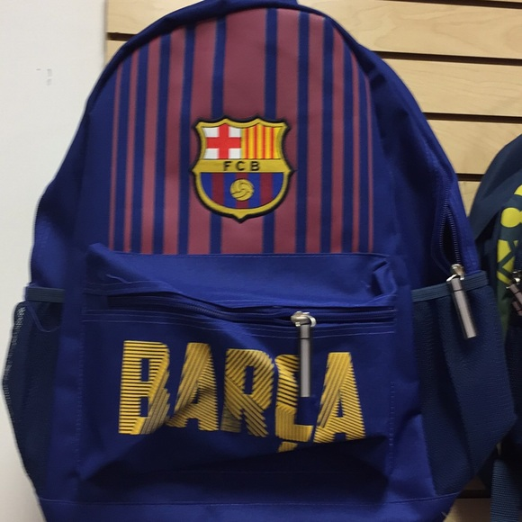 Accessories   Barcelona Fabric Youth School Backpack   Poshmark 235453a997